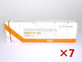 オベリット60mg7箱セット|あんしん通販薬局