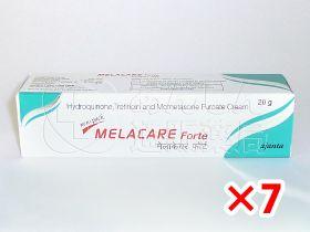メラケアForteクリーム4%7箱セット|あんしん通販薬局